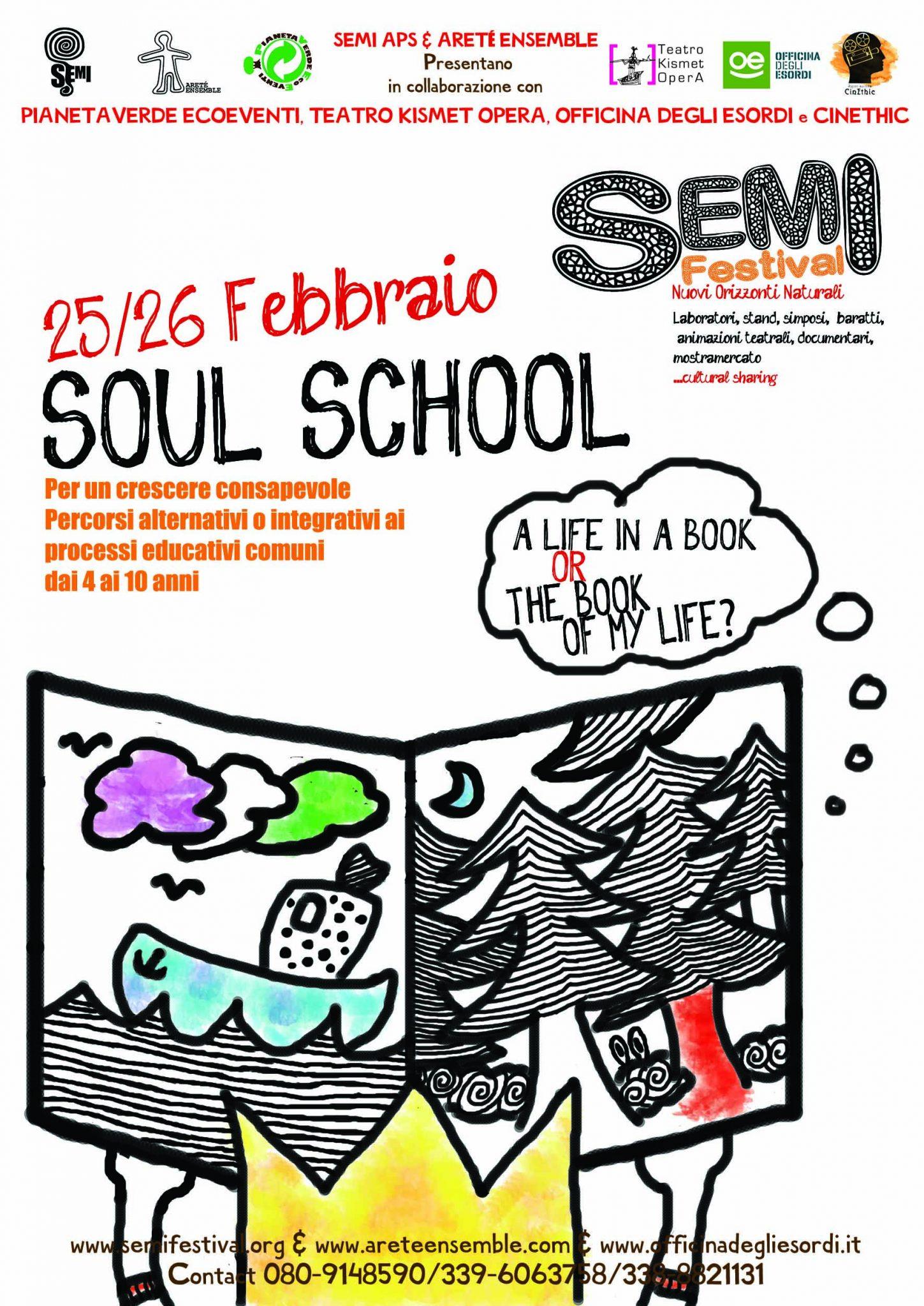 Flyer SEMI Soul School2017 FRONT Web