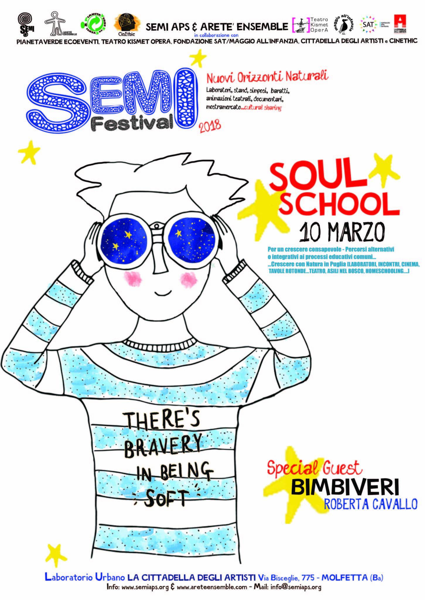 LocandinaSoulSchoolSEMI2018