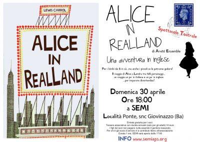 Alice loca 30 aprile 2017